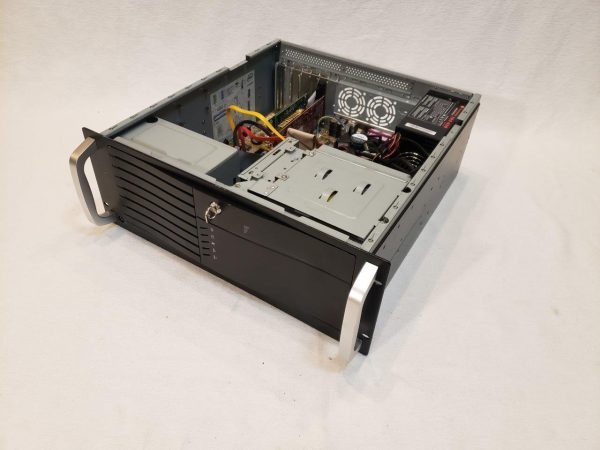 "4U Rackmount Server Case 3 External 5.25"" Drive Bays with 430W power supply"