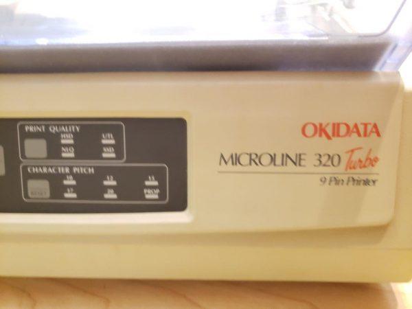 MICROLINE 320 Turbo 9 Pin Dot Matrix Printers Okidata 62411601 GE7000AUH